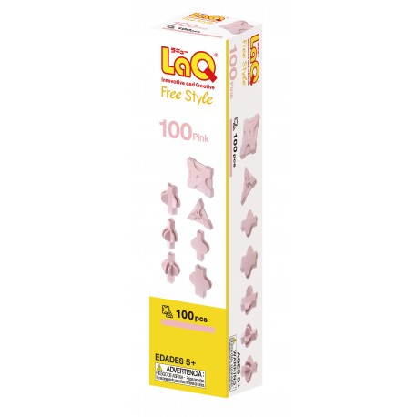 LaQ Free Style 100 Rose