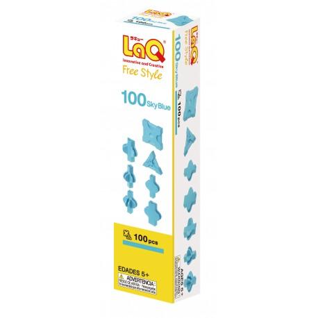 LaQ Free Style 100 Bleu Ciel