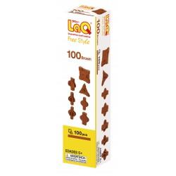LaQ Free Style 100 Brun