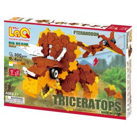 LaQ Triceratops et Pteranodon