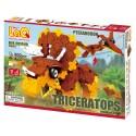 LaQ Dinosaure Triceratops & Pteranodon