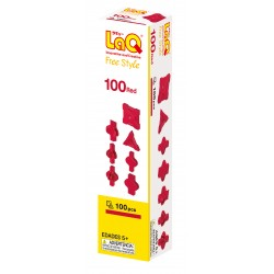 LaQ Free Style 100 Rouge
